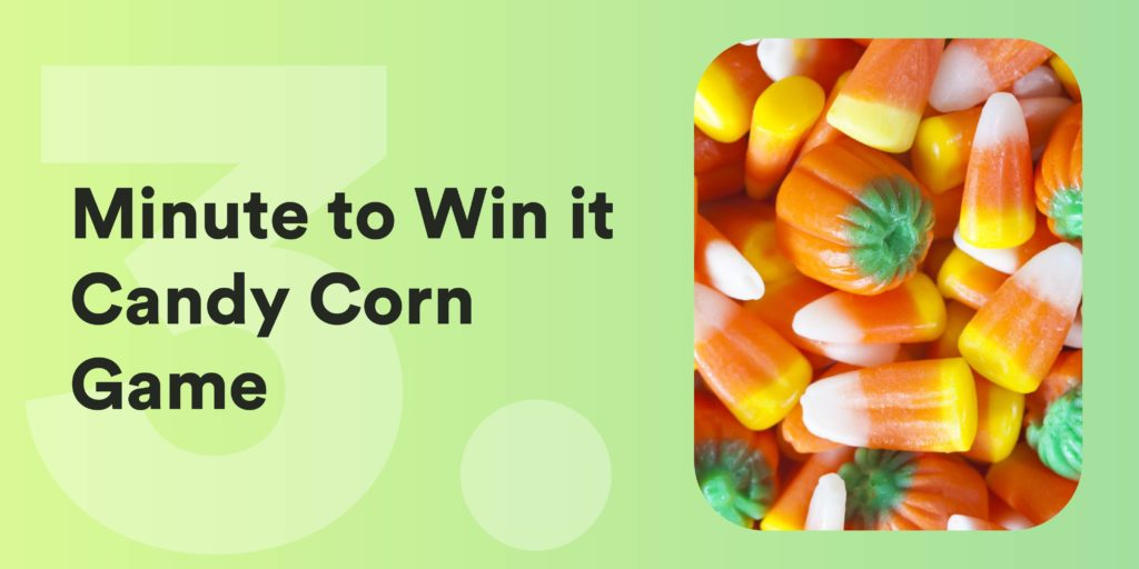 Minute to Win it Candy Corn Game