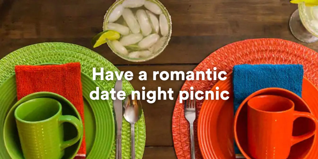 Have a romantic date night picnic