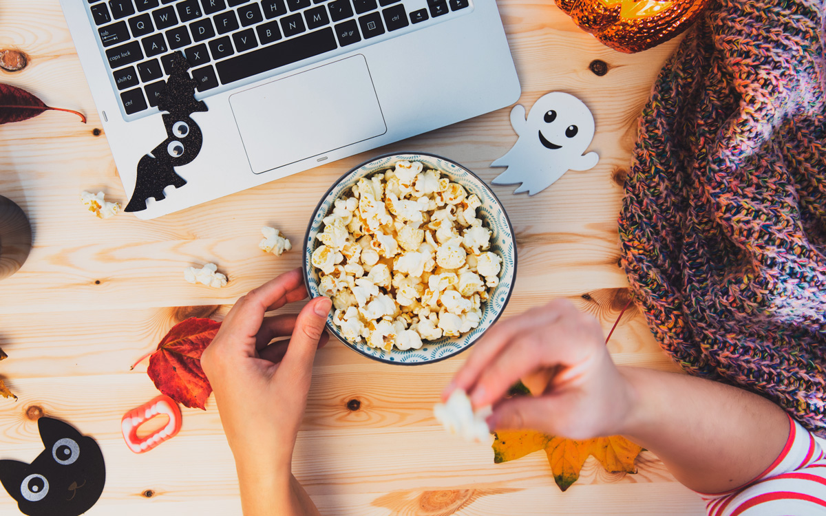 Halloween Movies and Snack Pairings for a Spooktacular Night In