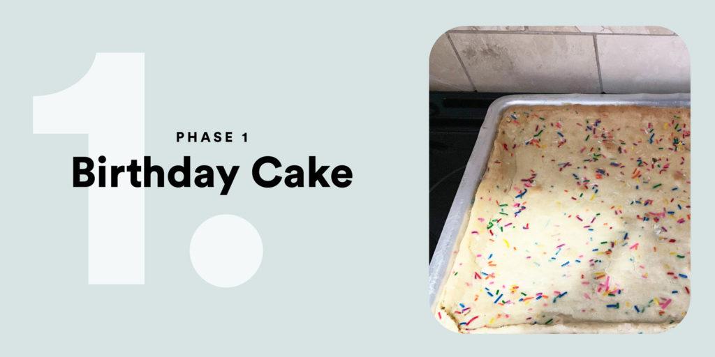PHASE 1 – Birthday Cake