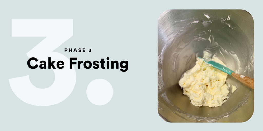 PHASE 3 – Cake Frosting