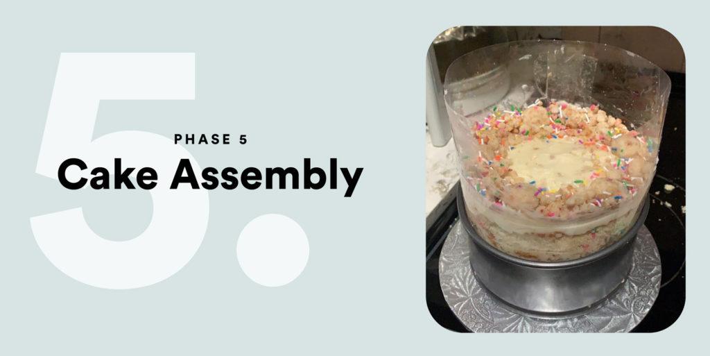 PHASE 5 – Finally, the Cake Assembly