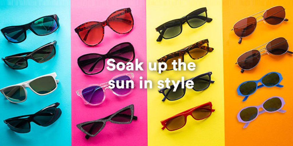 Soak up the sun in style