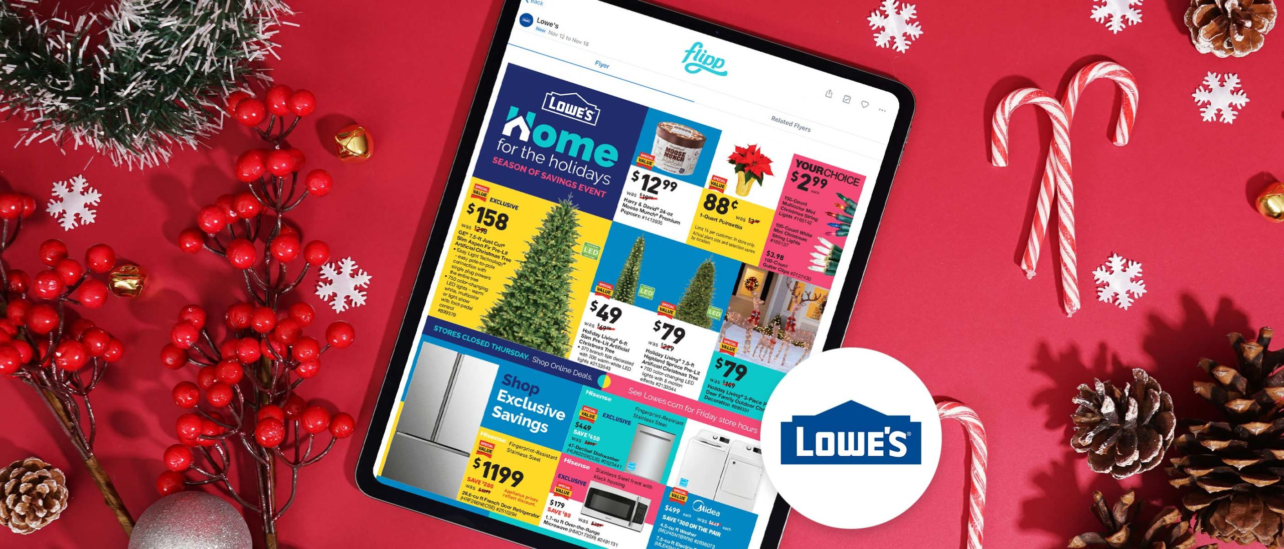 Revamp Your Home for the Holidays With Lowe's Best Deals