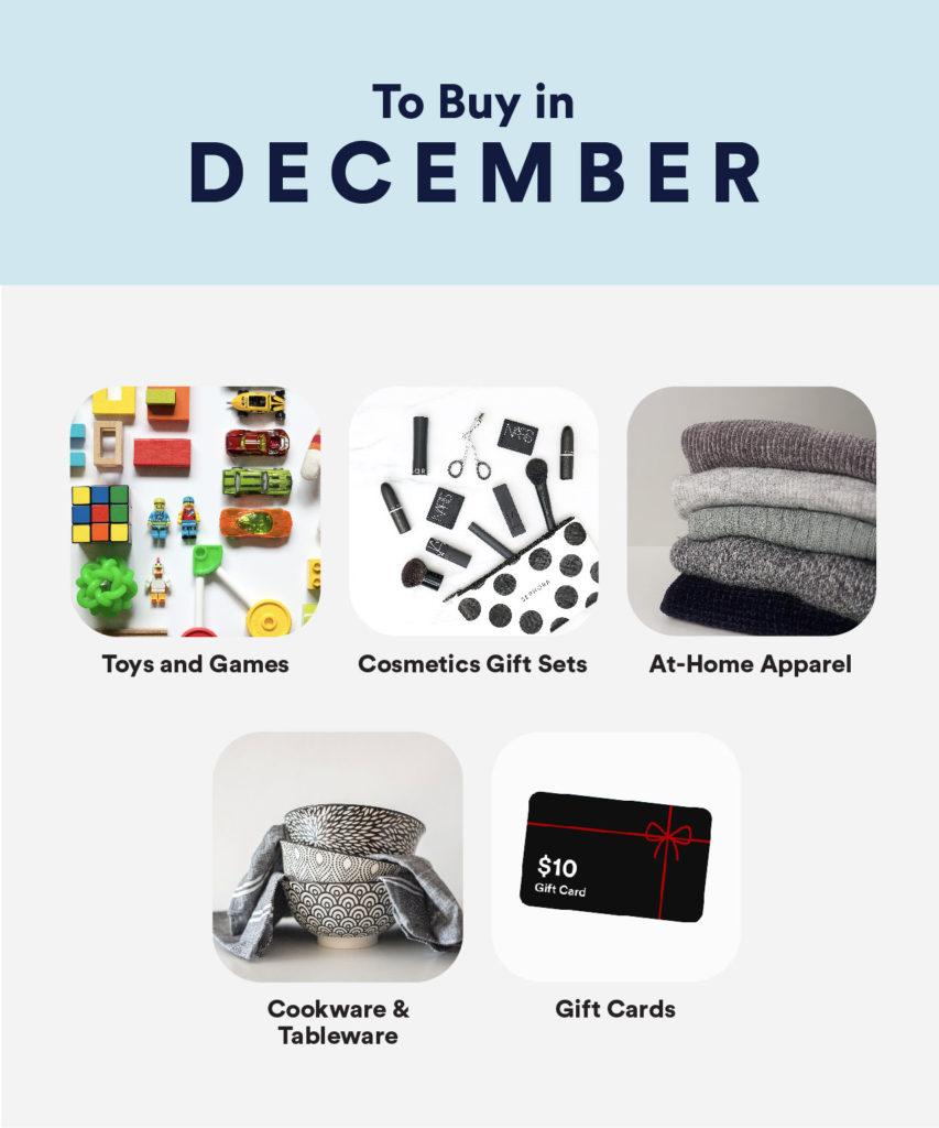 To Buy in December