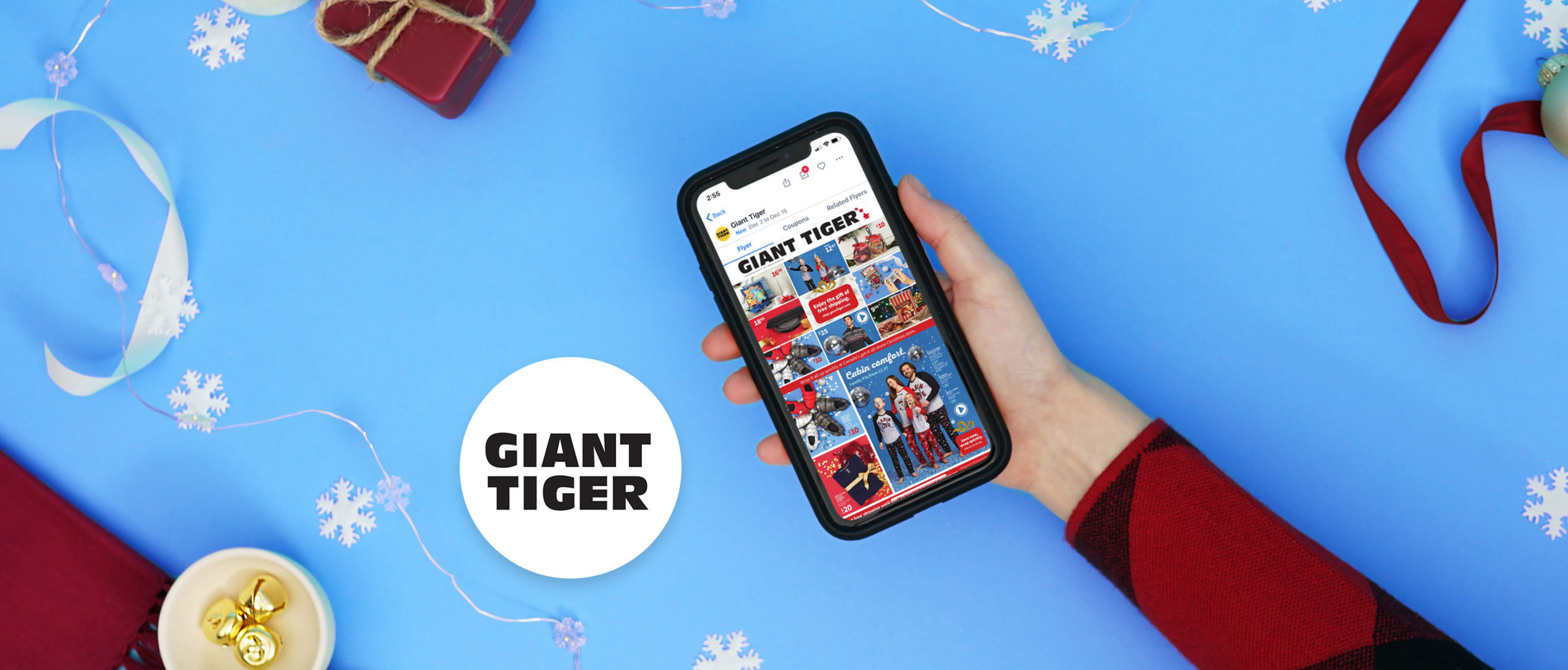 Save Now, Gift Later. Top 4 Reasons to Holiday Shop at Giant Tiger