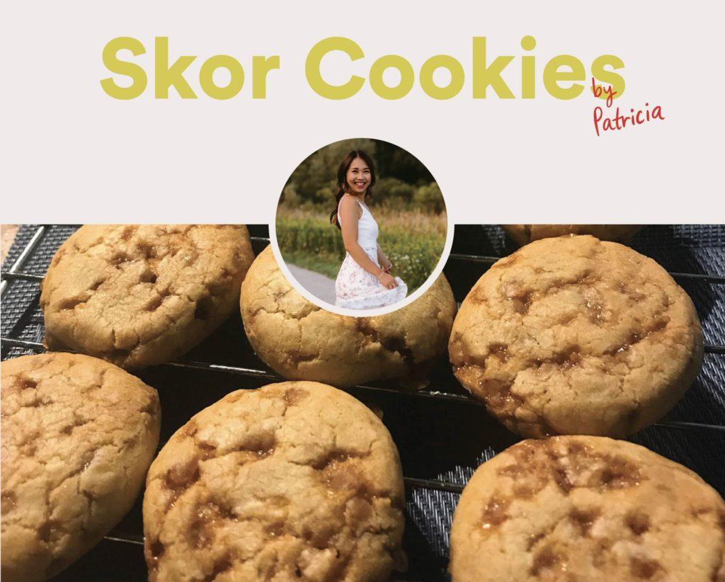 Skor Cookies by Patricia