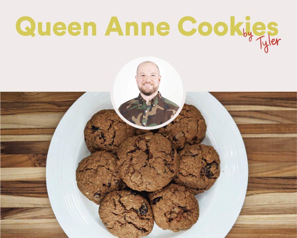 Queen Anne Cookies by Tyler