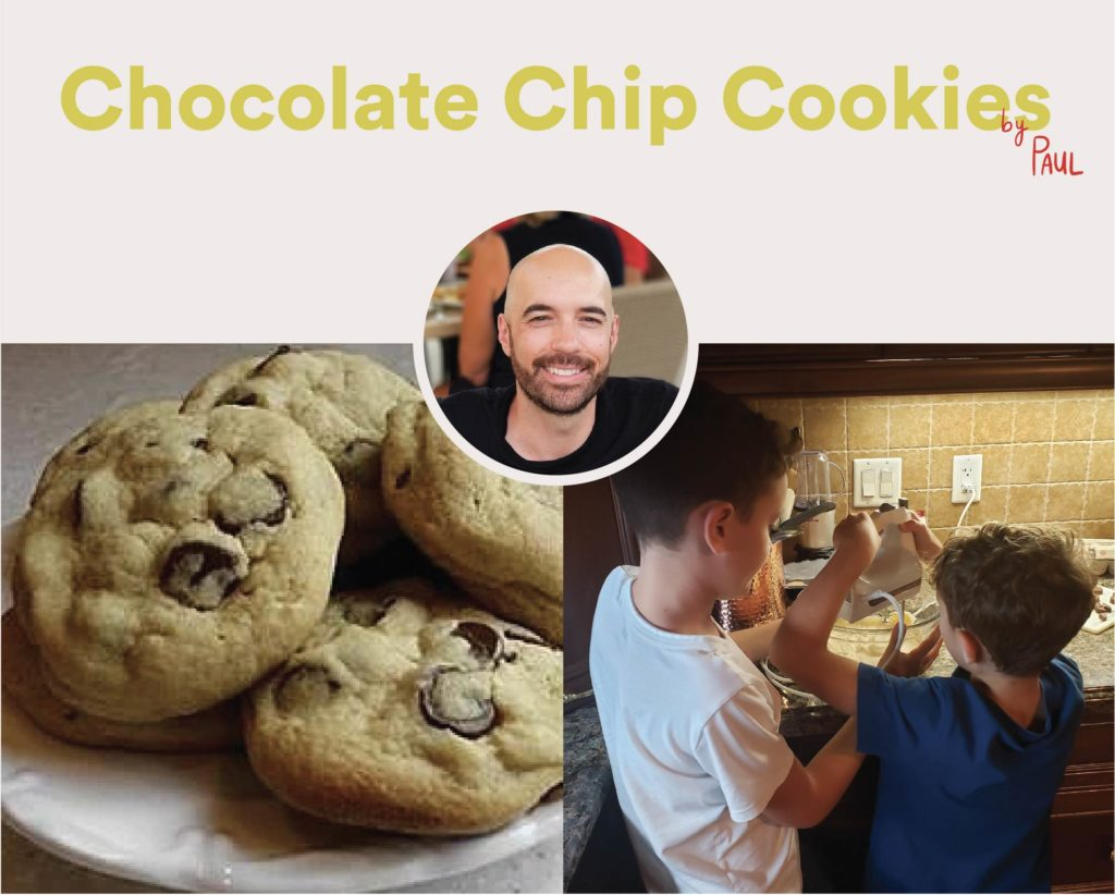 Chocolate Chip Cookies by Paul