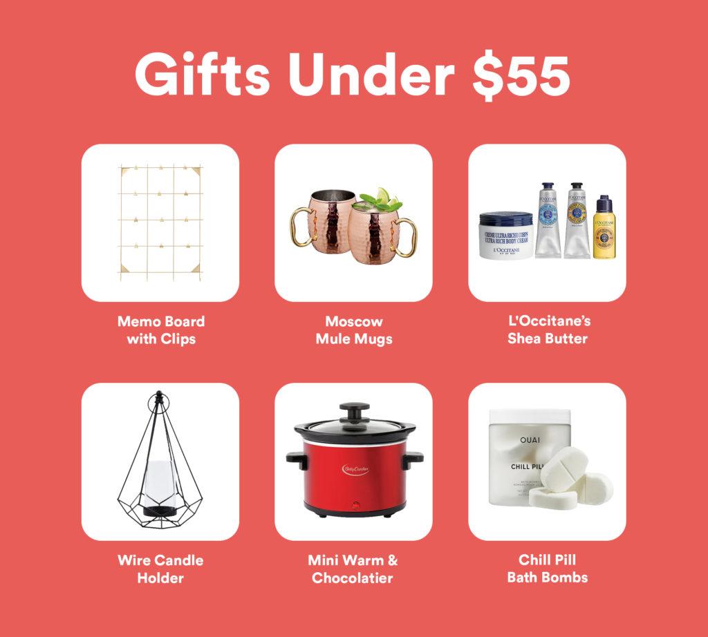 Gifts Under $55