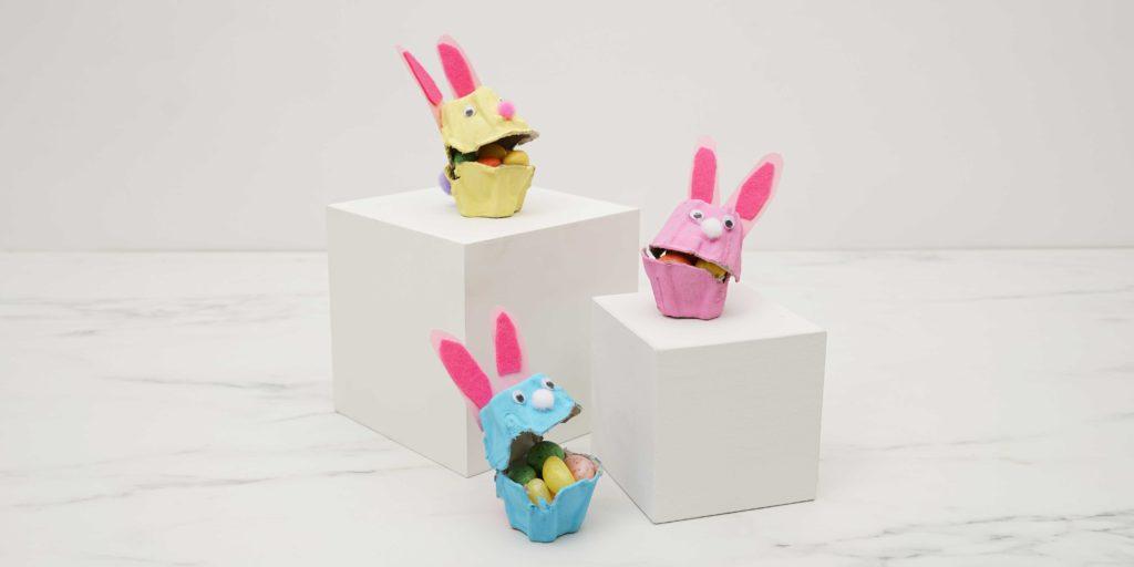 Egg Carton Bunnies