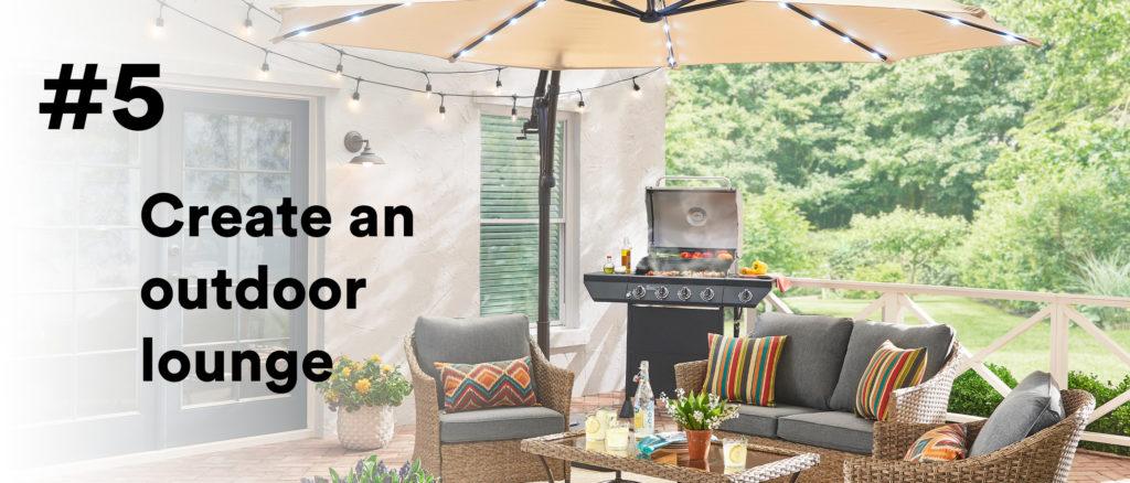 #5 Create an outdoor lounge