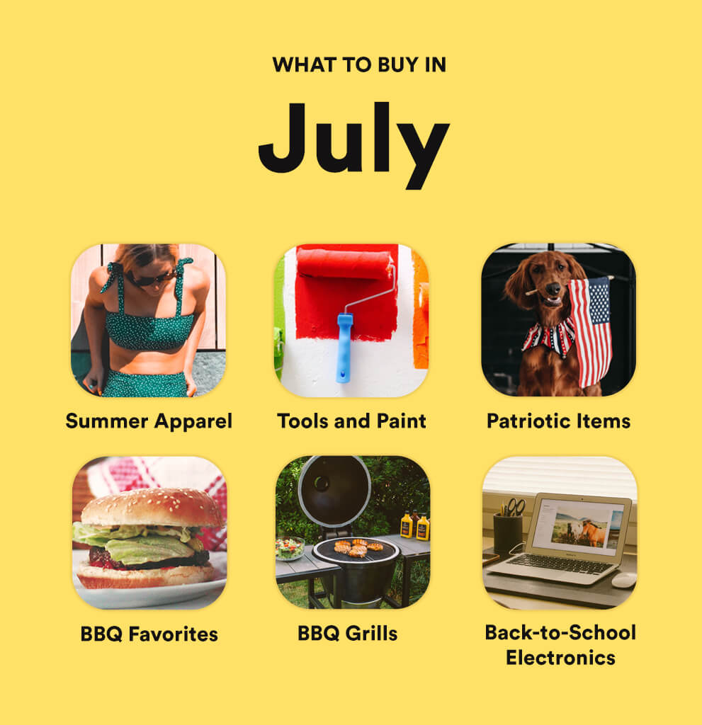 What to Buy in July