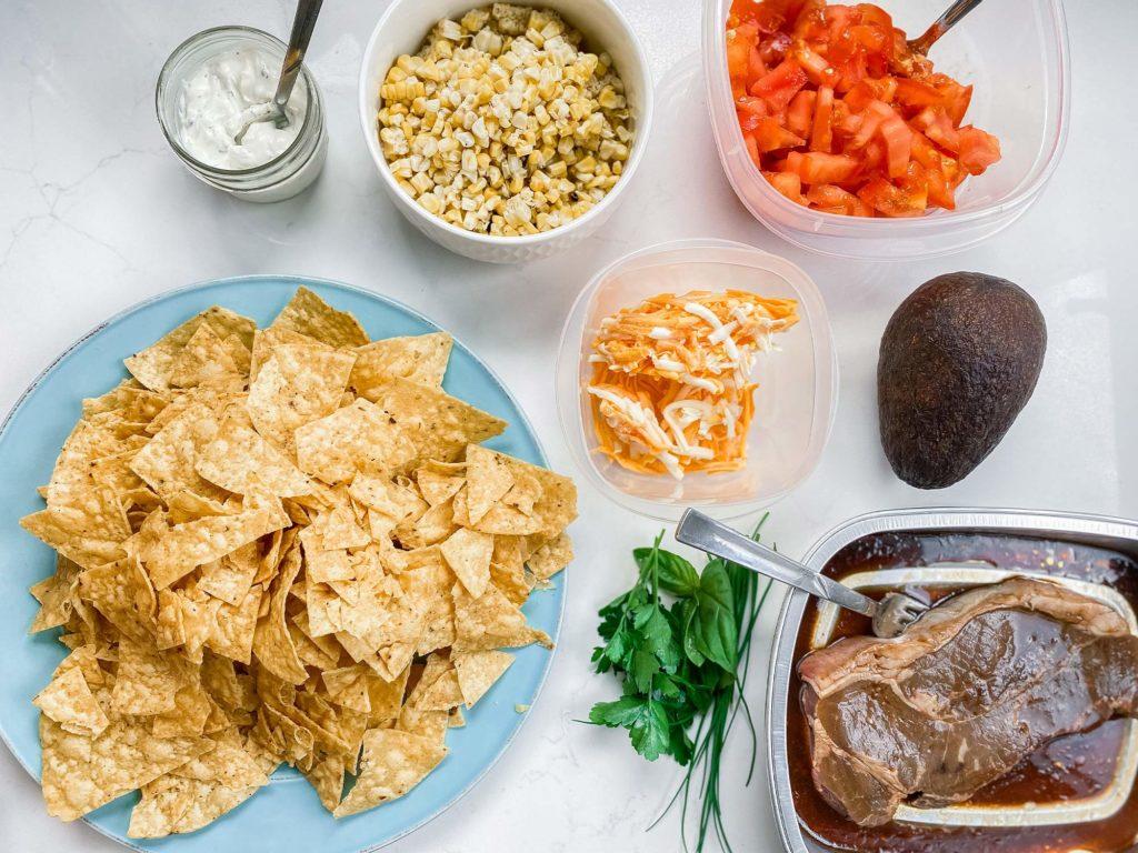 BBQ Nachos Ingredients
