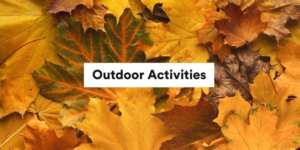 Outdoor Activities Header Image